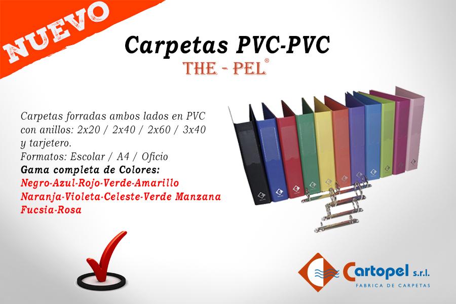 Carpetas PVC